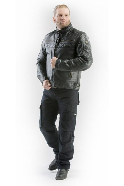 Bojówki motocyklowe meskie Rambler mottowear cala postac