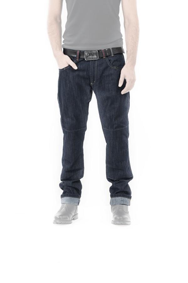 Spodnie motocyklowe meskie z kevlarem city raw mottowear